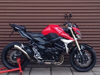 Suzuki GSR 750 L1. AKRO. Only 4792 miles. Delivery Available *Credit & Debit Cards Accepted*