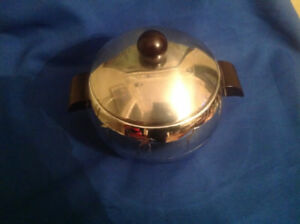 1940's 1950's Chrome Penquin Ice Bucket
