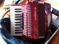 40 bass, Silvetta Accordion