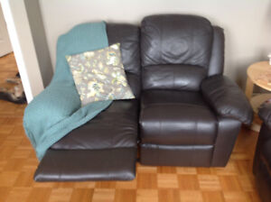 2 Sofas inclinables 2 places