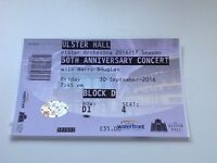Ticket to Ulster Orchestra's 50th Birthday Concert with Barry Douglas