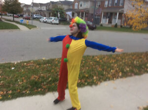 Joker costume with wig and nose Cambridge Kitchener Area image 2