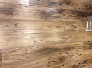 Laminate flooring - Reclaimed American Chestnut (Armstrong).