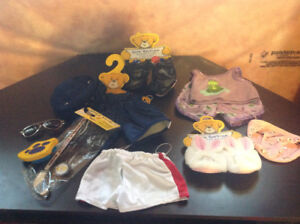 NEW Build-A-Bear Clothing/Accessories (11 Items)