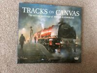 Tracks on canvas book