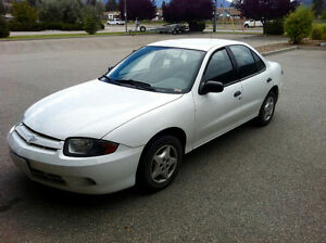 2003 Cavalier REDUCED FOR QUICK SALE ASAP 1800$ OBO