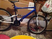 """Mountain Bike 26"""" Wheels 18 Gears Disk Brakes"""
