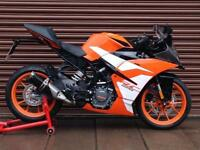 KTM RC 125 125cc ABS 2017 SuperSport ONLY 119miles Nationwide Delivery Available