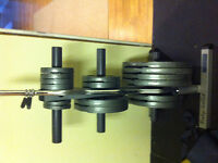 Weight plates and olympic bar