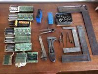 Vintage Engineer Tools joblot