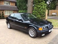 BMW 316 I compact 1 lady owner from new low miles rare car don't miss out full bmw s/h don't miss !!