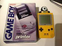 Nintendo GameBoy Pocket, Camera & Printer Bundle