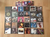 33 assorted CD Albums, Hendrix INXS HIM Etc Job lot Also willing to separate