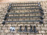 Thule, roof bars, ladder rack. Gutter type fittings.