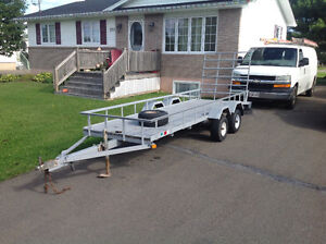 NEW PRICE. !! Galvanized utility trailer
