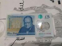 AK47 New £5 Note
