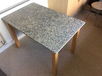 Granite top table for sale