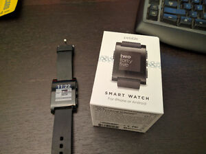 Pebble smartwatch Gen 1, with a small problem Kitchener / Waterloo Kitchener Area image 1