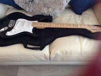 BEHRINGER Starter Guitar and amp. £70