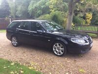 SAAB 95 AERO ESTATE GREAT SPEC 2007 MODEL DIESEL LOOKS DRIVES PERFECT FORD FIAT TOYOTA HONDA