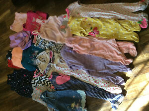 Assorted Girl clothes 3-9 months..