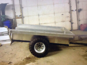 Quad pull behind trailer 1300 or obo