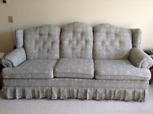 England/Corsair 3 seat couch ($225), matching arm chair ($125)