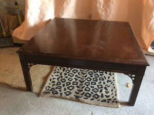 Vintage Knechtel Furniture Ltd. Coffee Table.
