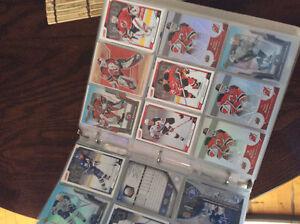 Collection cartes de hockey