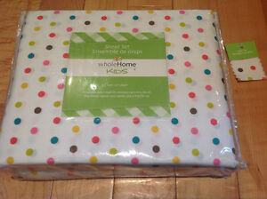 New with tags - kids sheet set - twin size