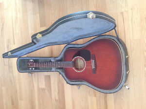 Art and Lutherie Spruce Burgundy