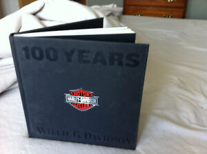 100 Years Harley Davidson - Hard Cover Book