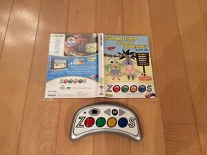 Zoooos Play and Learn DVD System with 2 DVD Game Discs Kitchener / Waterloo Kitchener Area image 1