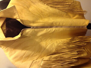 Tan Leather Authentic Western Jacket