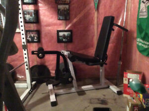 Body Solid Leg Extension & Curl Machine