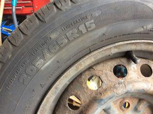 Pneus Michelin 205-65-15
