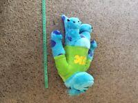 Monsters university sully / spot the dog / stitch