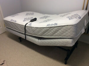 Single Inclining Bed