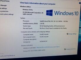 Windows 10 mini PC with WiFi. Mini ITX