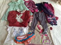Girl's Bundle of Clothes. Age 3 to 4 years.