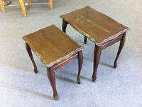 2 nesting end tables