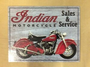Indian Motorcycle Signs