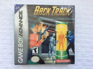 "BACK TRACK (Nintendo GBA) - ""mint & complete"" (from 2001)"