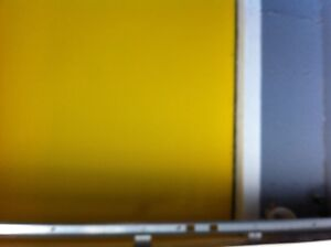 New yellow paint for wall