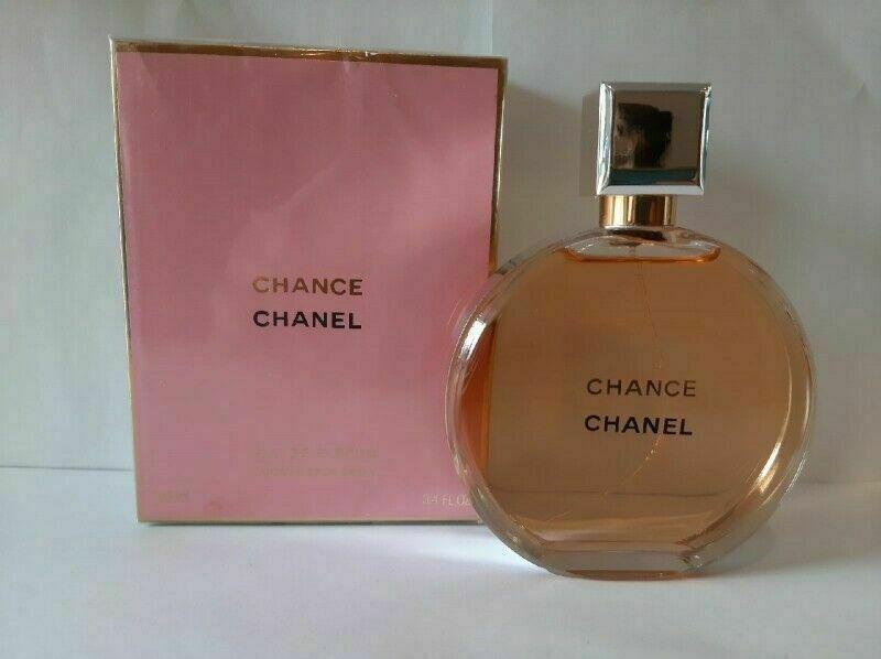 CHANEL Chance Eau de Parfum Spray 34 fl oz  100 ml Womens Fragrances