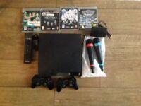 PS3 slimline with Singstar