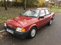 1988 F Ford Orion 1.6 L-1 owner-12 months Mot-33,000 miles-exceptional condition-great value