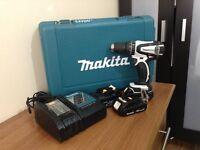 Makita cordless hammer driver drill 18v drill set