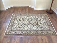 Cream oriental rug