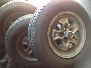 "GREAT DEAL ON 14"" TIRES & RIMS"